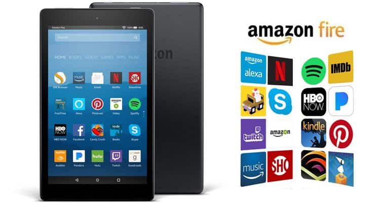 Amazon Fire HD 8 16GB Tablet with Alexa 7th Generation for $48 + Free Shipping