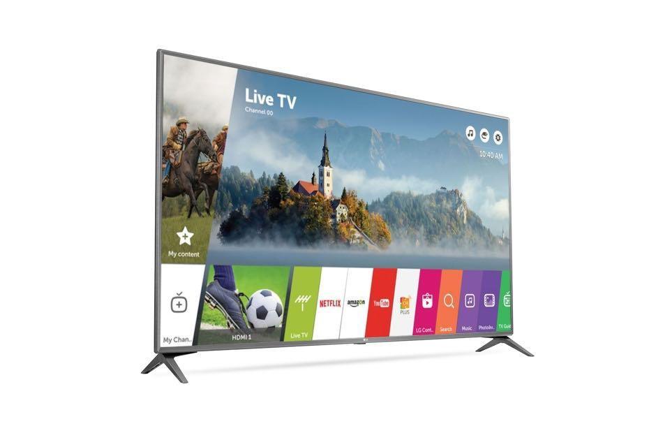 "*Starts 10/21/17 @ 12AM PST* 55"" LG UJ6300 55UJ6300 2160p LED-LCD TV $496.99 + Free Shipping"