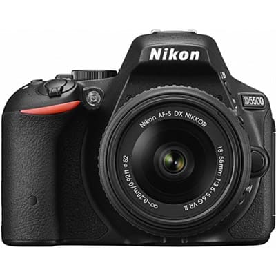 Nikon Refurbished D5500 DX-format Digital SLR w/ 18-55mm VR II for $499 + Free Shipping