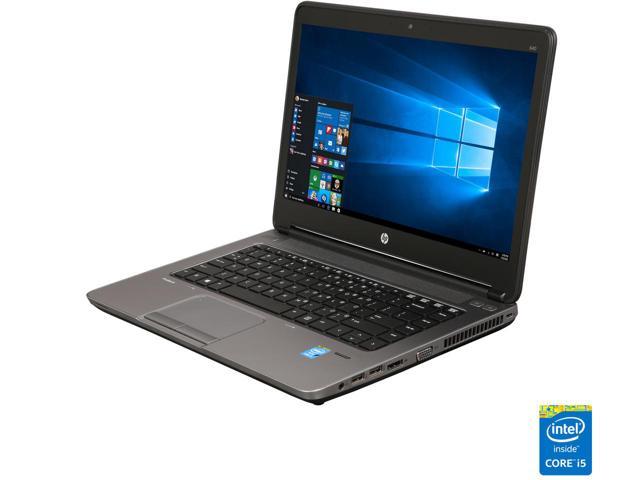 "HP Laptop 640 G1 Intel Core i5 4th Gen 4300M (2.60 GHz) 8 GB Memory 128 GB SSD Intel HD Graphics 4600 14.0"" Windows 10 Pro (Refurb) $250 Shipped"