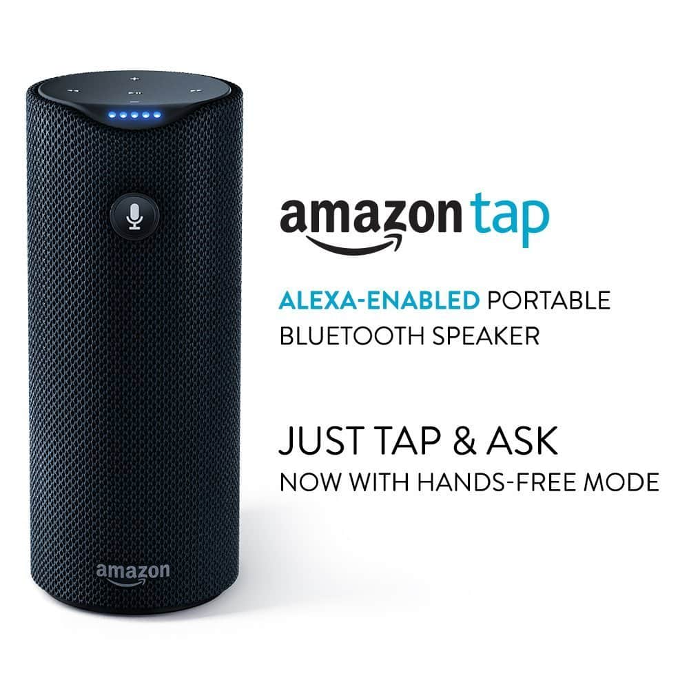 Amazon Tap - Alexa-Enabled Portable BT Speaker (Certified Refurbished) for $60 Shipped