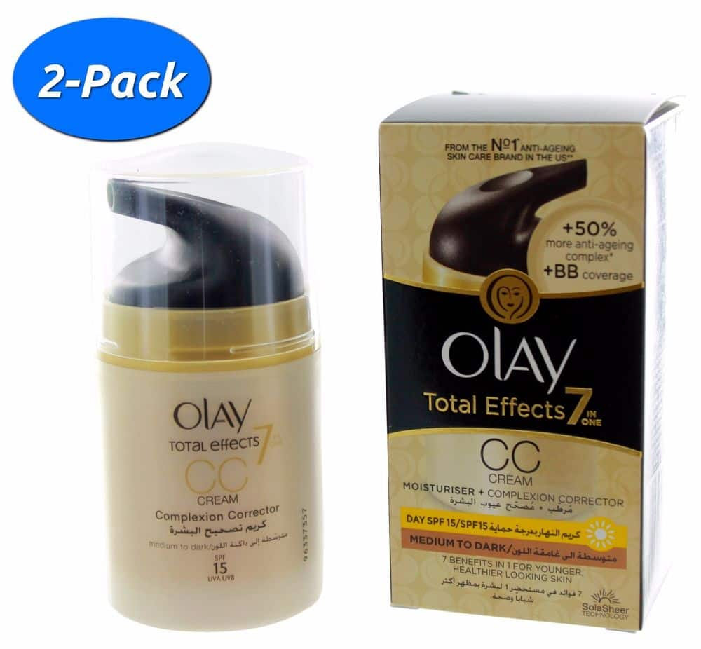 2-Pack Olay Total Effects 7-In-1 Anti-Aging Moisturizer CC Cream for $16.99 Shipped
