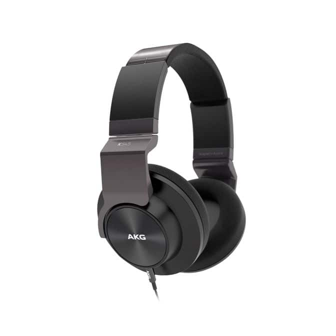 AKG K545 Refurbished High Performance Over-Ear Headphones with Leather Ear Cushions $99.99 + Free Shipping