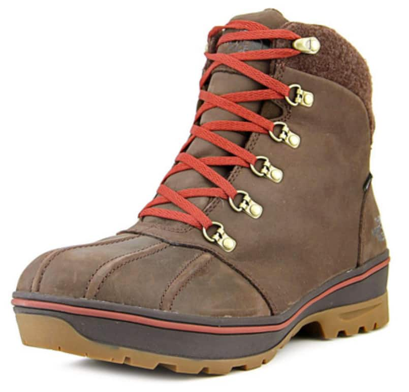 The North Face Ballard Duck Boot Mens Leather Hiking for $59.99 Shipped