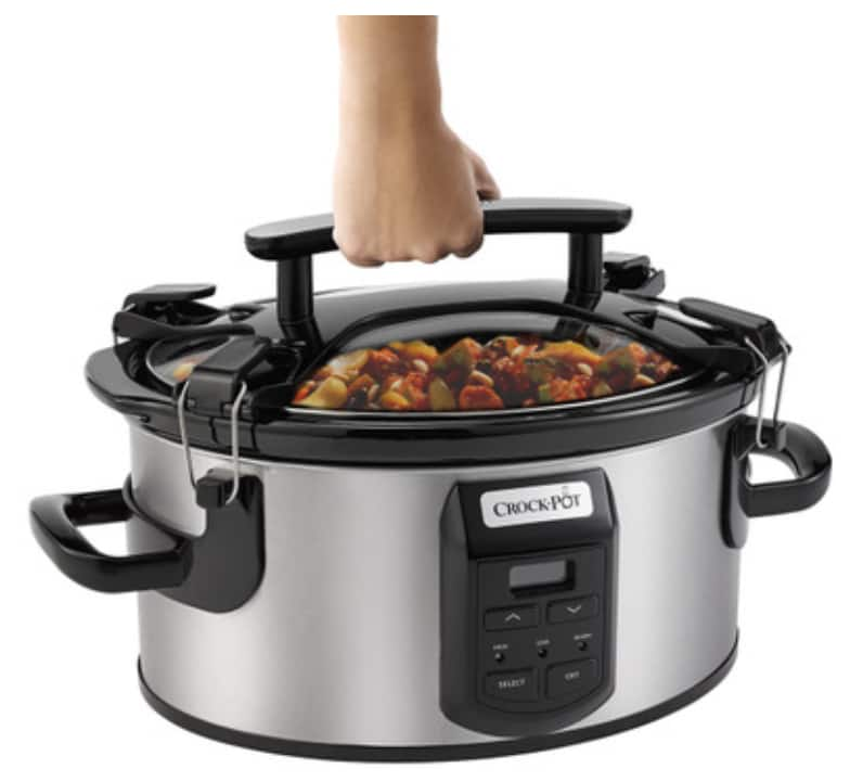 Crock-Pot Cook & Carry 6-Quart Oval Slow Cooker for $30.00 + Free Shipping