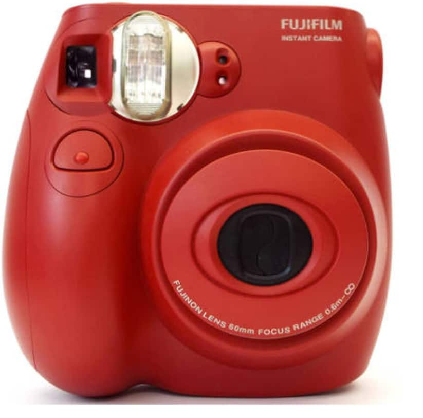 Fujifilm Instax MINI 7s Instant Film Camera - Red, White and Blue - Refurbished for $34.95 Shipped