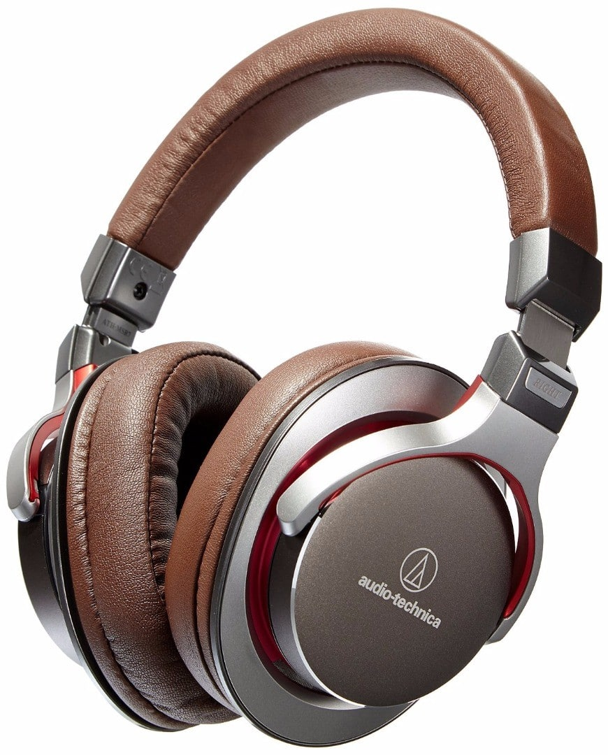 Audio-Technica ATH-MSR7BK SonicPro Over-Ear High-Resolution Audio Headphones (Certified Refurbished) for $89.50 + Free Shipping