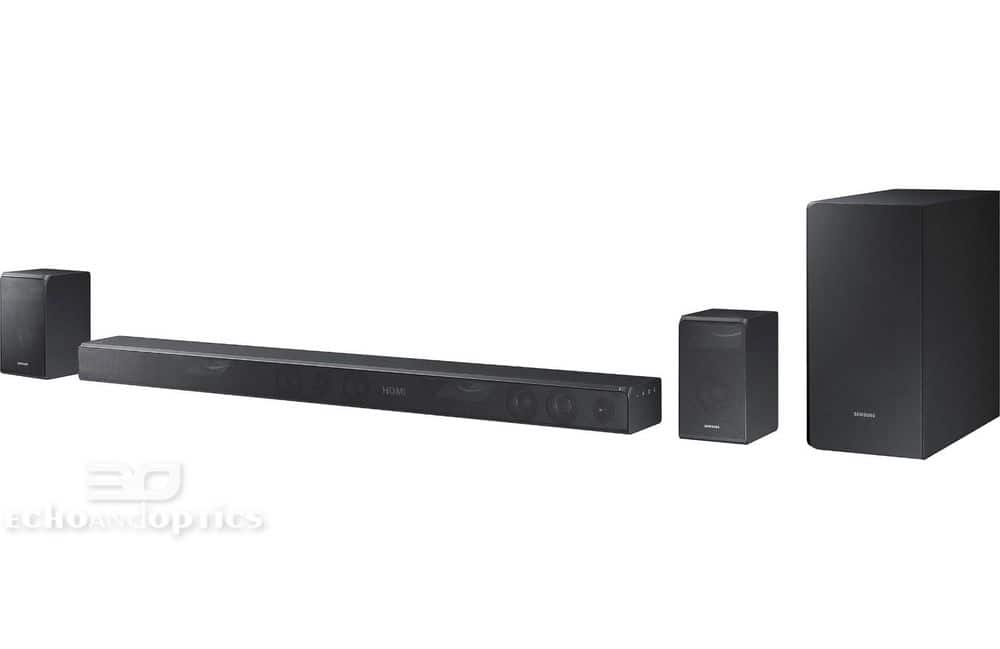 Samsung HW-K950 sound bar with wireless subwoofer, wireless surround speakers for $829 Shipped