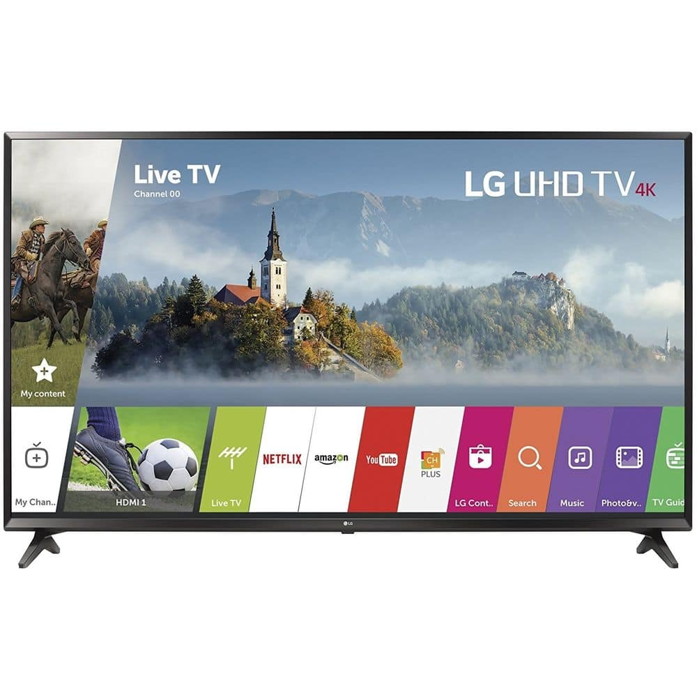"LG 49UJ6300 49"" UHD 4K HDR Smart LED TV $389.99 + Free Shipping (eBay Daily Deal)"