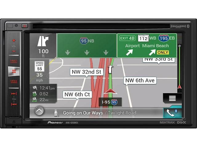 "Pioneer AVIC-5200NEX DVD CD Navigation Receiver w/ 6.2"" Touchscreen + $150 NE Promo Gift Card for $499.99 + Free Shipping"