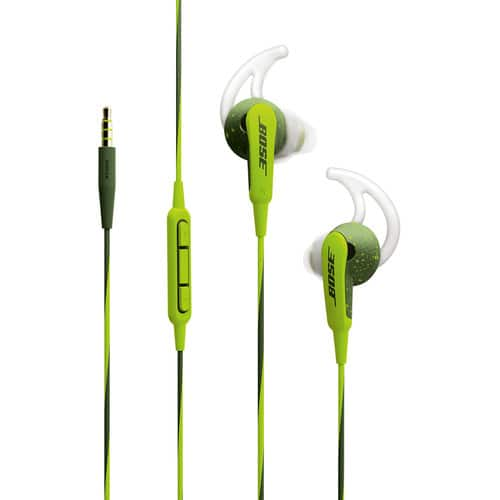 Bose SoundSport In-Ear Headphones-Apple Devices (Energy Green) for $49 + Free Shipping
