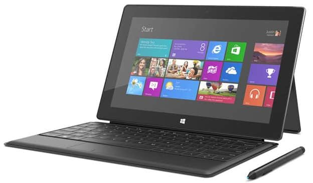 Refurbished: Microsoft Surface Pro Tablet (64 GB Hard Drive, 4 GB RAM, Dual-Core i5, Windows 8 Pro) w/ Keyboard for $170 + Free Shipping
