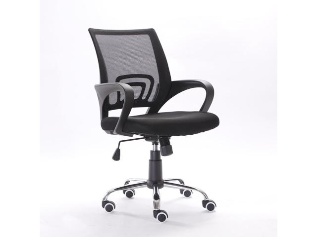 Modern Mesh Fabric Back Gas Lift Adjustable Office Swivel Chair $38.99 Shipped