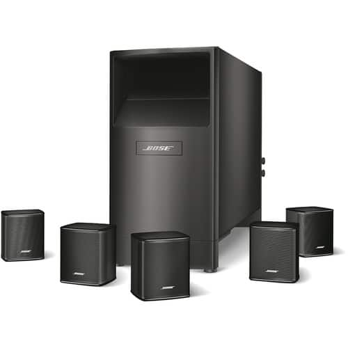 Bose Acoustimass 6 Series V Home Theater Speaker System (Black)  $499 + Free Shipping