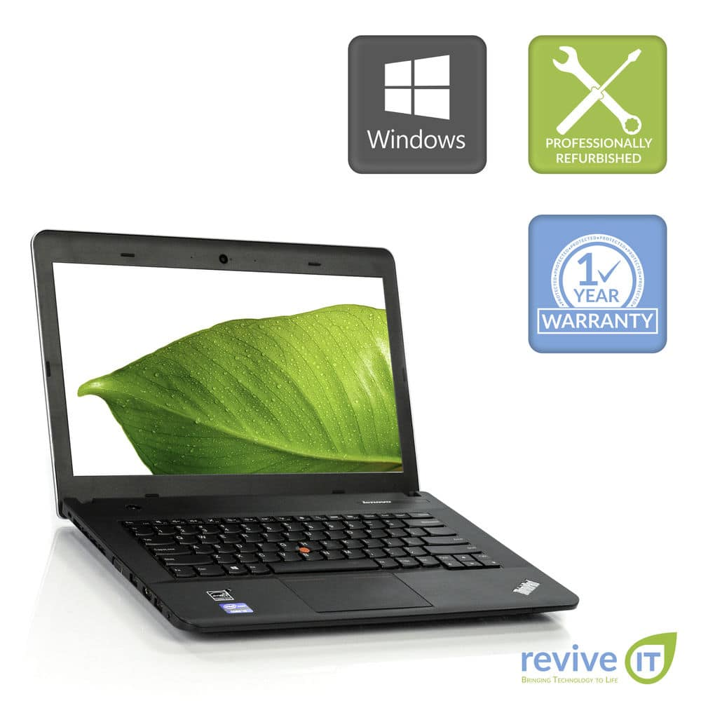 "Lenovo Thinkpad Edge E431 14"" Laptop Core i3-3120M 2.5GHz 4GB 320GB Win 10 Pro (Microsoft Registered Refurbisher) for $139.99  + Free Shipping (eBay Daily Deal)"