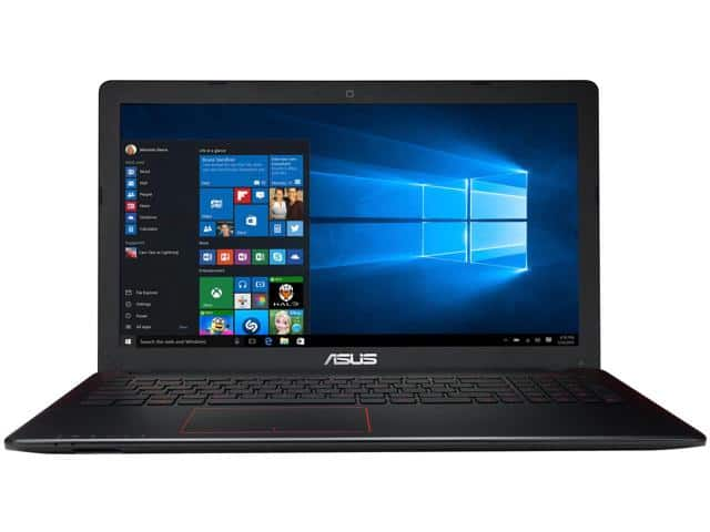 "ASUS FX550IU-WSFX 15.6"" Full HD Gaming Laptop, AMD FX-9830P Quad Core Processor (3.0 GHz), AMD Radeon RX 460 Graphics 4GB VRAM, 128 GB SSD + 1TB HDD, 8GB DDR4 $529 AC Shipped"