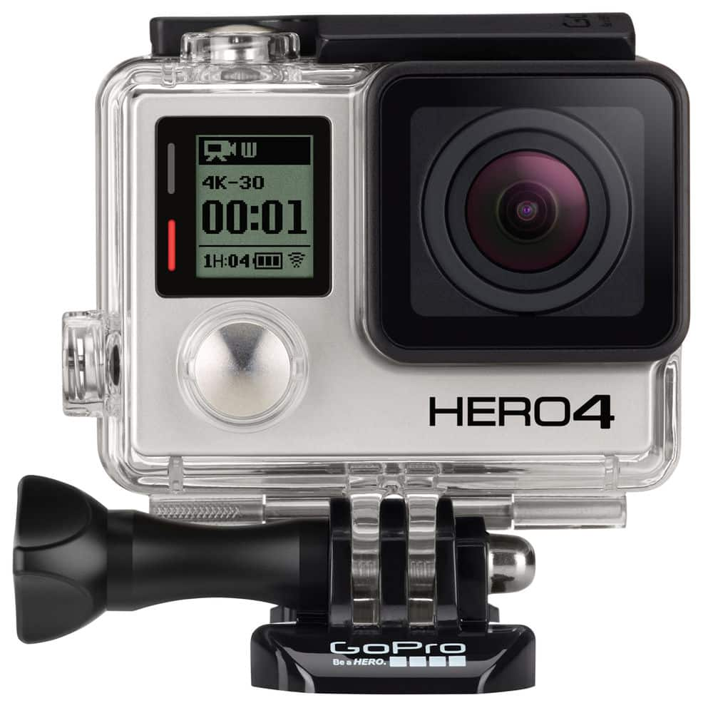 GoPro HERO4 Black Camera (Manufactured Refurbished) with 1-Year Manufacturer Warranty From GoPro for $199.99 + Free Shipping (eBay Daily Deal)