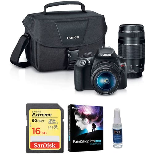 Canon T5i W/18-55 W/ Free 75-300mm $599 or Canon 5d3 storage Kit for $2099 or Canon T6 W/18-55 for $399 & More + Free Shipping