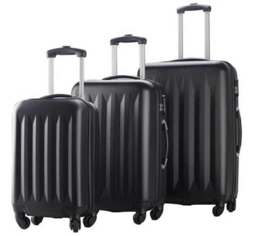 3-Piece Hardside Luggage Spinners Set w/ Built-In Combination Lock $47.99 AC + Free Shipping