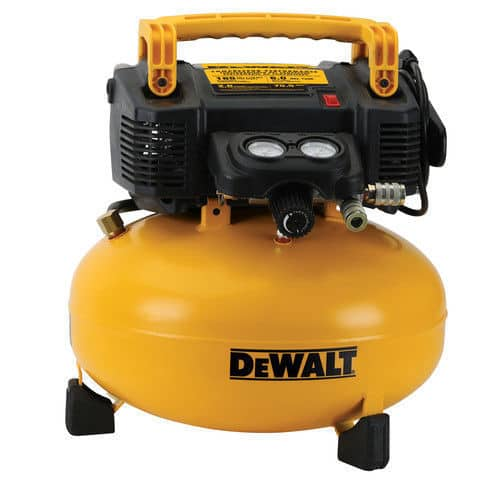 DEWALT 0.9 HP 6 Gallon Oil-Free Pancake Air Compressor DWFP55126R (refurbished) $99.99 + Free Shipping (eBay Daily Deal)