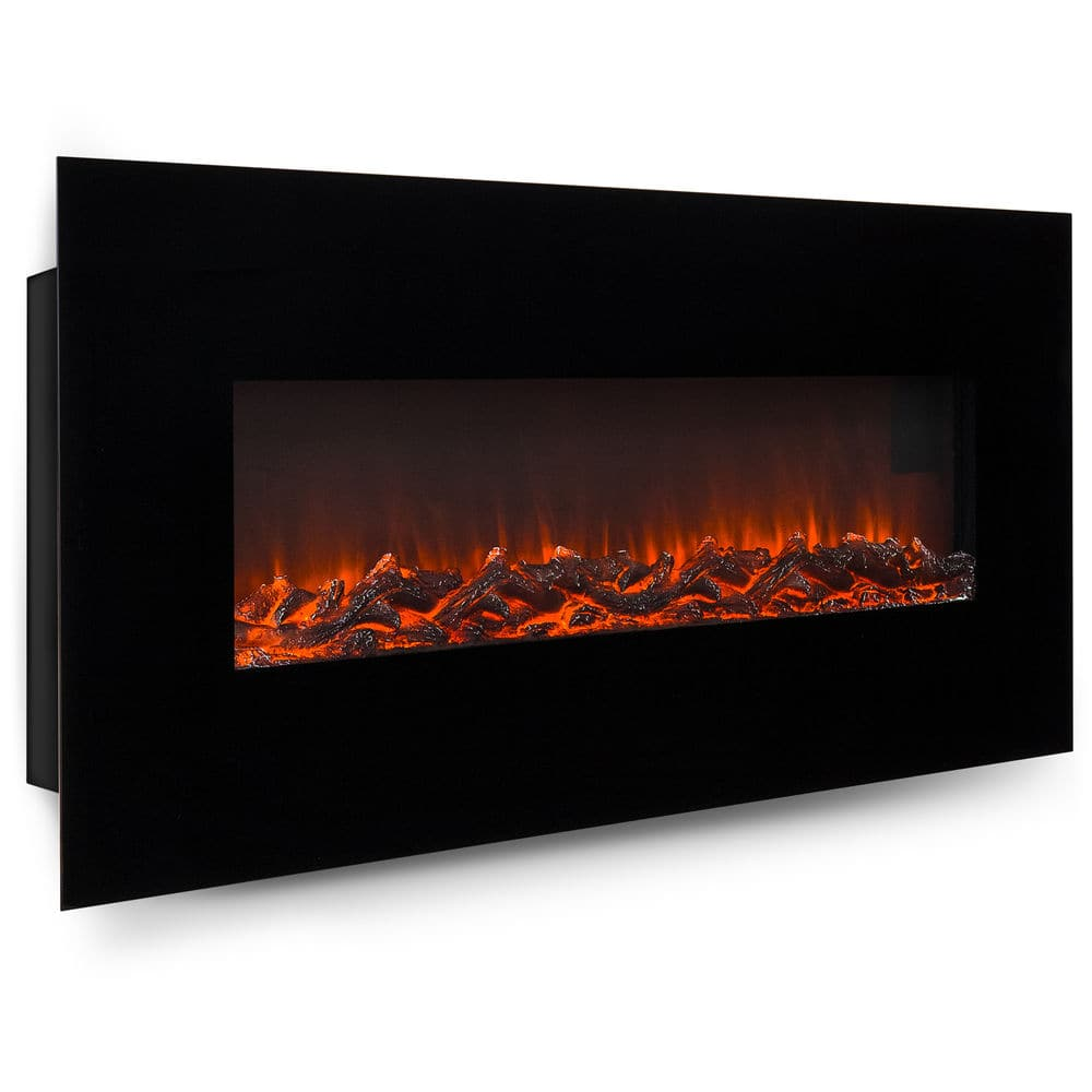 """50"""" Electric Wall Mounted Fireplace Heater W/ Adjustable Heating $139.99 + Free Shipping (eBay Daily Deal)"""