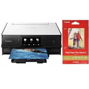 Canon PIXMA TS9020 Wireless All-in-One Inkjet Printer w/ PP-301 Photo Paper for $53.99 + Free Shipping (eBay Daily Deal)