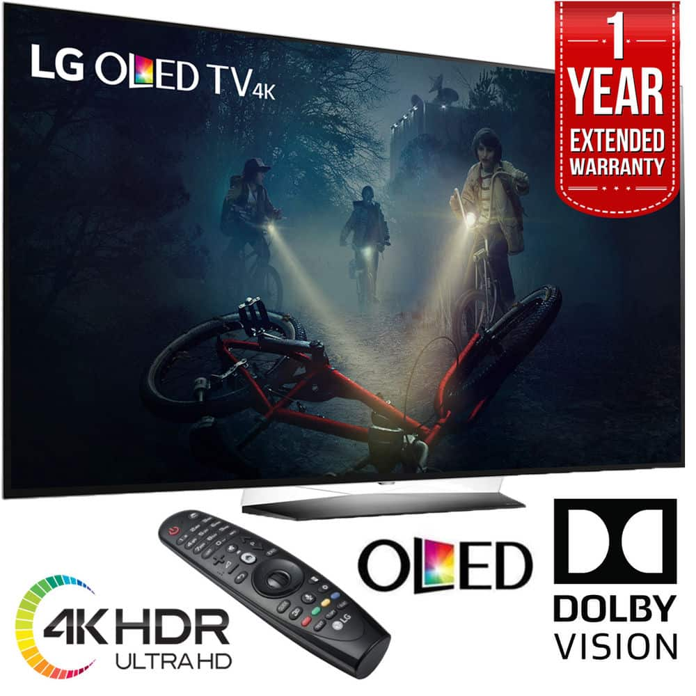 "LG OLED65B7A B7A Series 65"" OLED Smart TV 2017 Refurbished w/ 1-Year Extended Warranty for $1999 + Free Shipping (eBay Daily Deal)"