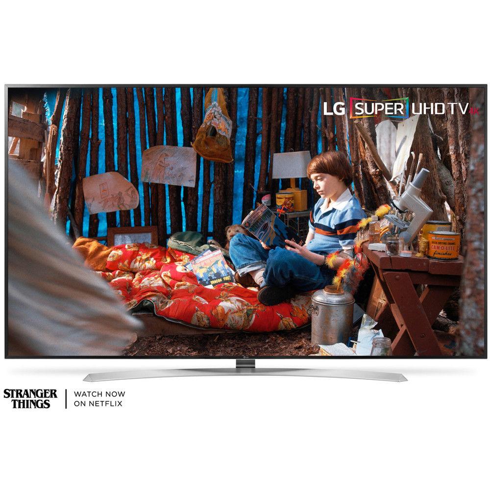 """LG 60SJ8000 SUPER UHD 60"""" 4K HDR Smart LED TV (2017 Model) for $799 + Free Shipping (eBay Daily Deal)"""