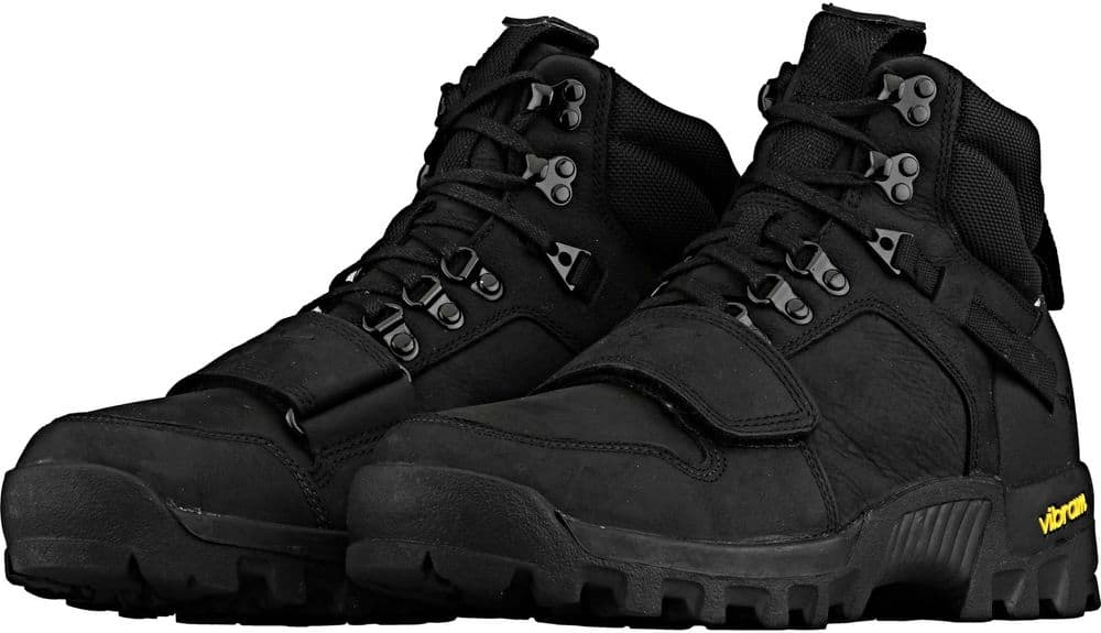 Creative Recreation Dio Tactical Black Leather Boots for $45 + Free Shipping
