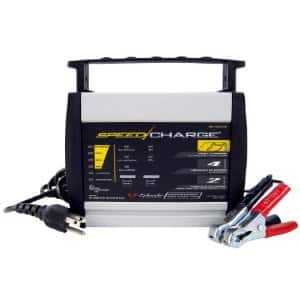 Schumacher SC-600A SpeedCharge High Frequency Battery Charger Auto / Motorcycle $20.00 @ amazon.com