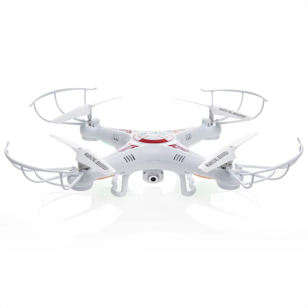 RC 6-Axis Quadcopter Flying Drone Toy With Gyro and HD Camera Remote LED Lights for $34.99 + Free Shipping (eBay Daily Deal)