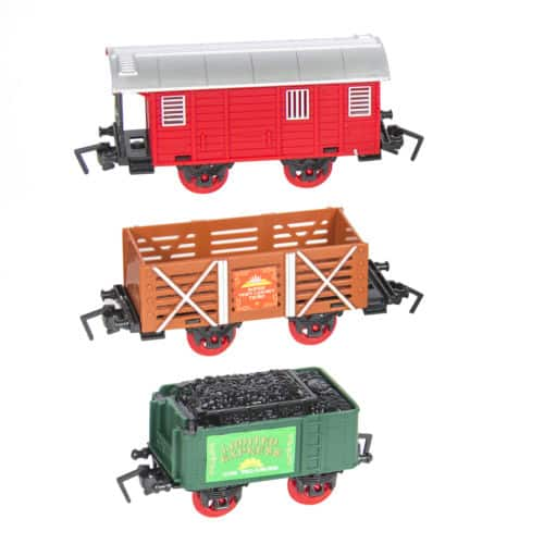 Classic Train Set For Kids With Music and Lights Battery Operated Railway Car $20 + Free Shipping (eBay Daily Deal)
