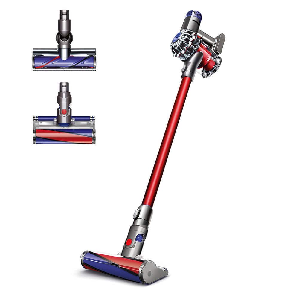 Dyson SV09 V6 Absolute Cordless Vacuum in Red (New Condition) for $289.99 AC + Free Shipping (eBay Daily Deal)