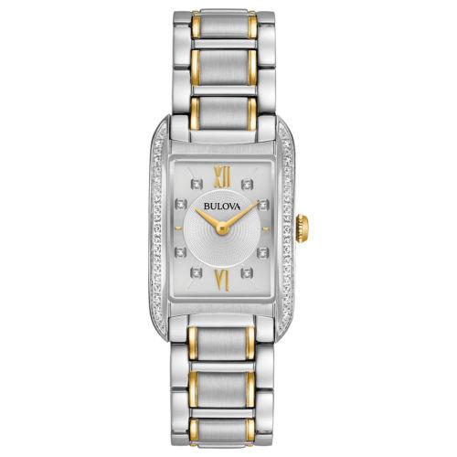Bulova Women's Diamond Markers Quartz Silver-Tone or Gold-Tone for $114.99 + Free Shipping (eBay Daily Deal)