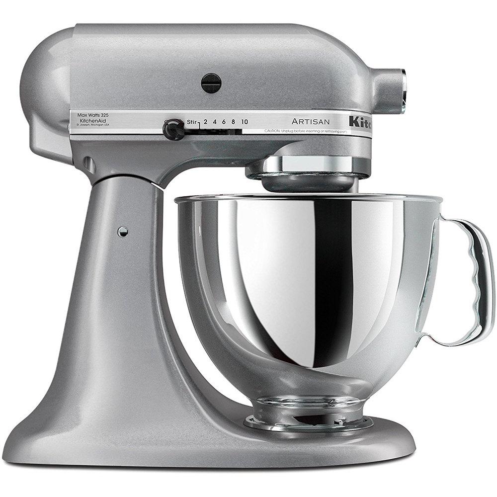 KitchenAid KSM150PSSM Artisan Series 5-Quart Stand Mixer (Silver Metallic) for $179.99 AR + Free Shipping
