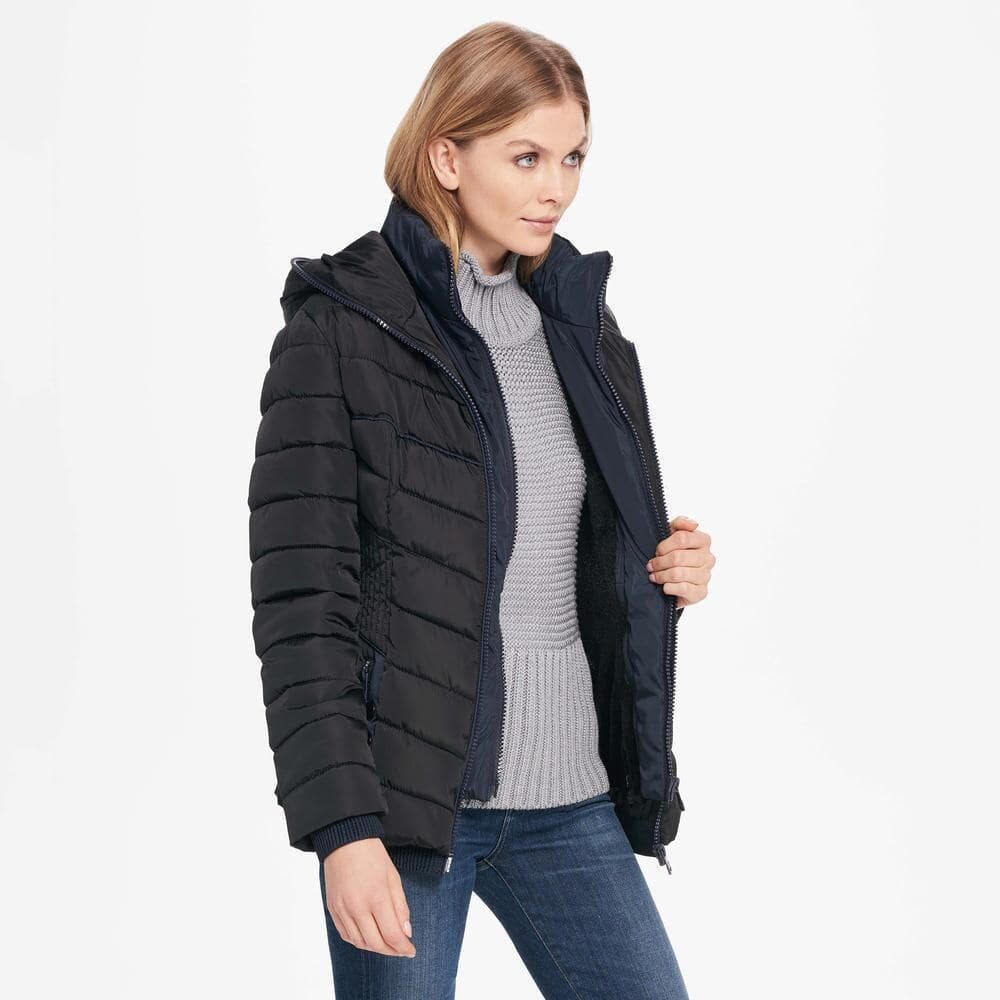 Coalition LA Womens Web Buster Coalition La Quilted Puffy w/ Hood $44.99 + Free Shipping (eBay Daily Deal)
