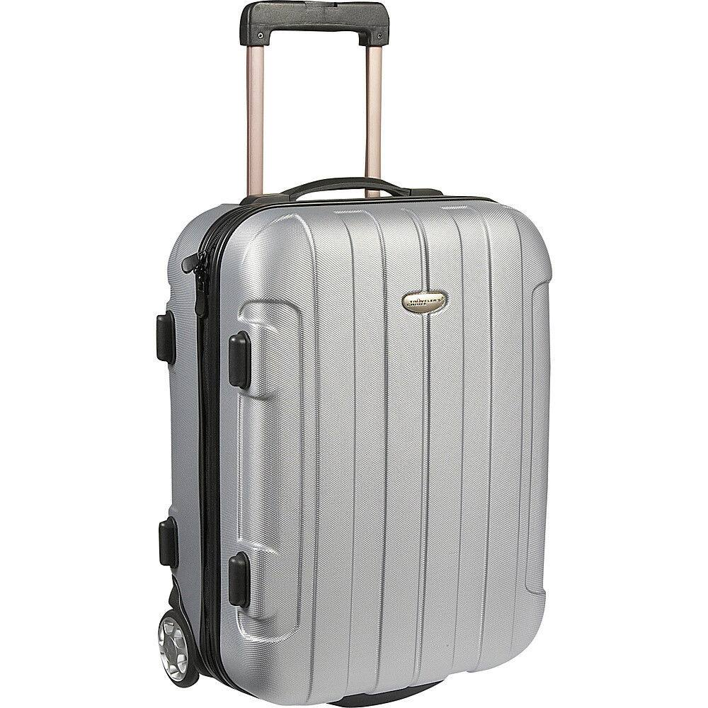 Traveler's Choice Rome 20 in. Hardside Rolling Carry-On Hardside Carry-On for $29.99 + Free Shipping (eBay Daily Deal)
