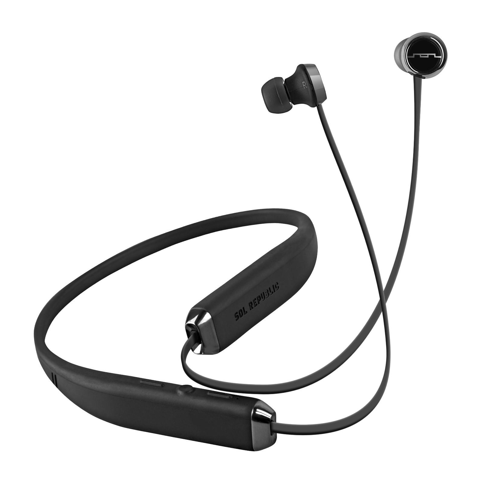 Sol Republic 1140-01 Shadow Wireless Bluetooth In-Ear Headphones Refurbished $14.99 Shipped