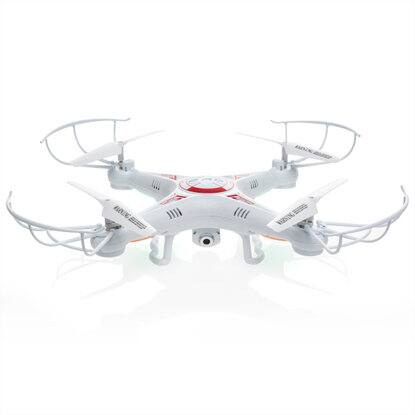 RC 6-Axis Quadcopter Flying Drone Toy With Gyro and HD Camera Remote LED Lights $27.99 + Free Shipping