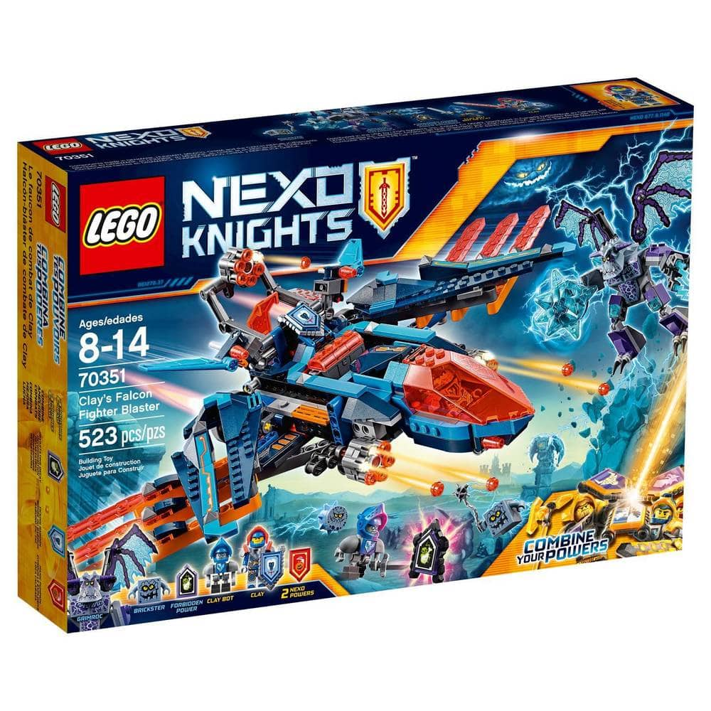 LEGO Sets: Nexo Knights Clay's Falcon Fighter Blaster $36.49, Friends Heartlake Surf Shop $15.99 + Free Shipping