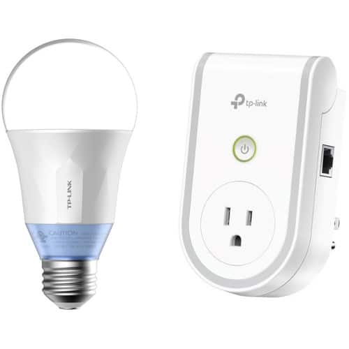 TP-Link RE270K AC750 Wi-Fi Range Extender and LB120 Wi-Fi Smart LED Bulb Kit $49.99 Shipped