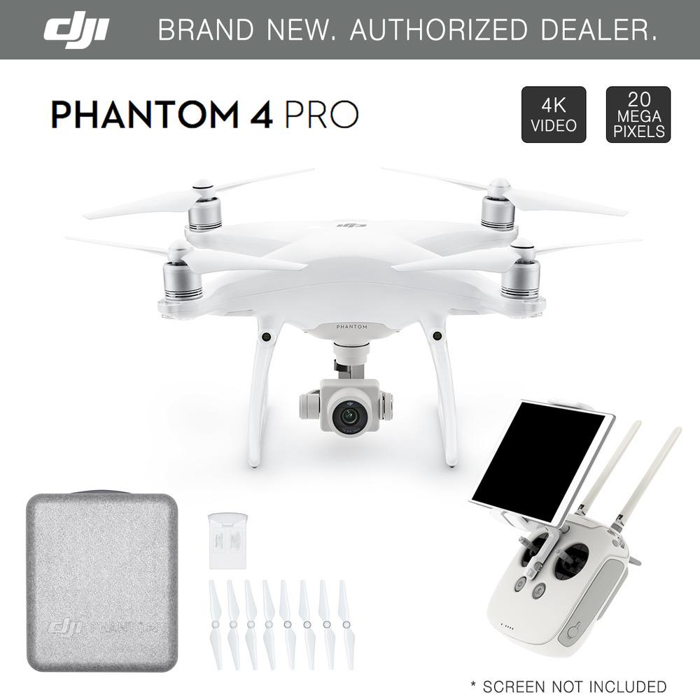 DJI Phantom 4 PROFESSIONAL Model Quadcopter - 4K HD + 2 Extra DJI Batteries $1499 + Free Shipping (eBay Daily Deal)