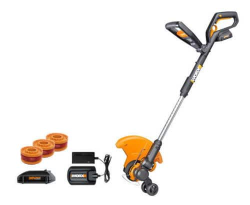 WORX 20V MaxLithium Grass Trimmer/Edger/Mini-Mower with 2 Batteries (Manufacturer Refurbished) $45 + Free Shipping (eBay Daily Deal)