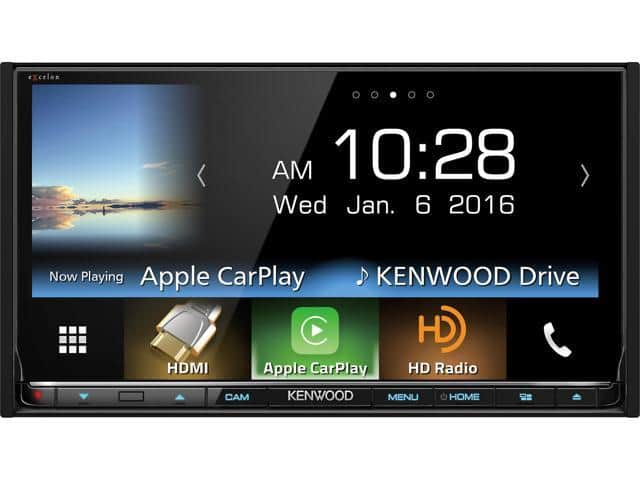 """Kenwood DDX9903S 6.95"""" eXcelon Double-DIN with Apple CarPlay and Android Auto $399.99 AC + Free Shipping"""