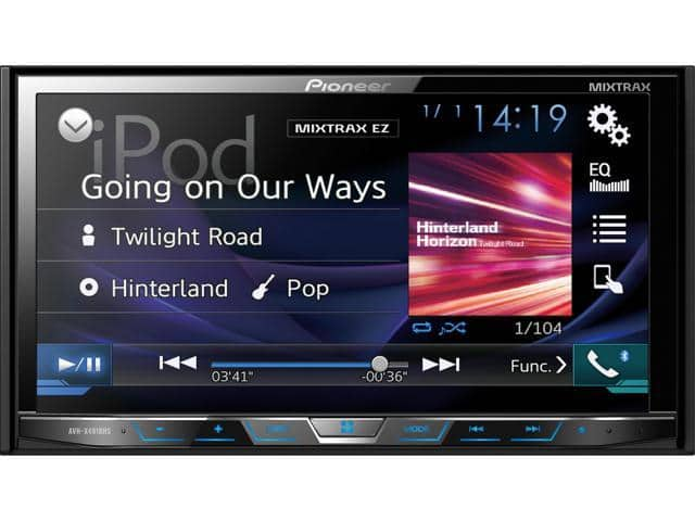 "Pioneer AVH-X491BHS 7"" DVD Receiver with Bluetooth and HD Radio $219.99 + Free Shipping"
