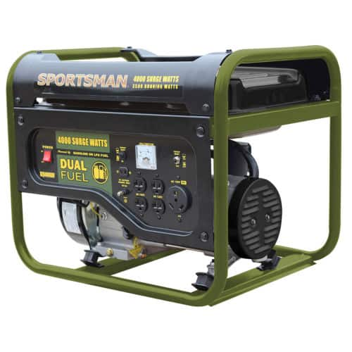 Sportsman Dual Fuel Powered 4000w Portable Generator $299.99 + Free Shipping (eBay Daily Deal)