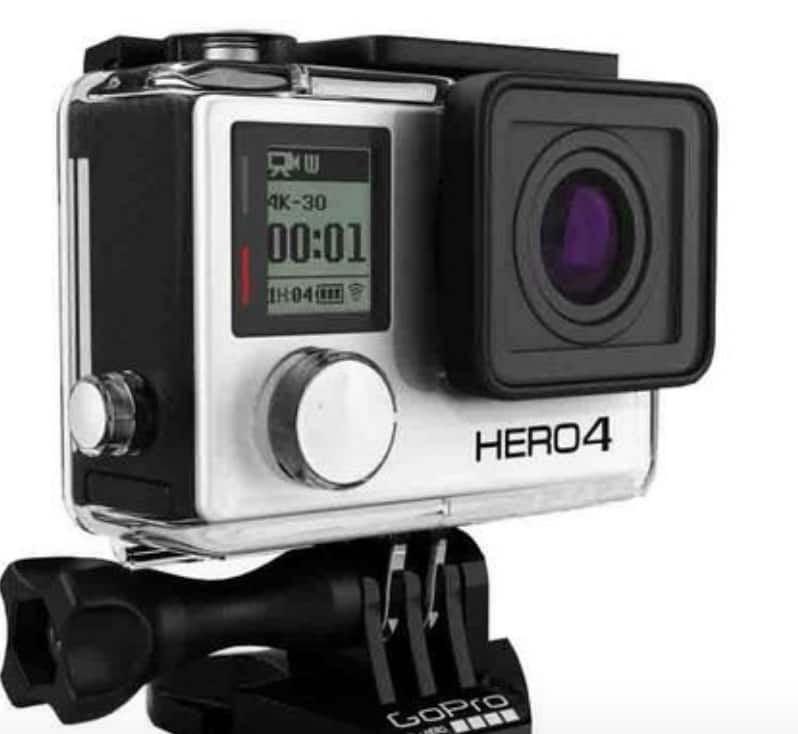 GoPro Hero 4 Silver or Black  Edition - Refurbished $174.95 + Free Shipping