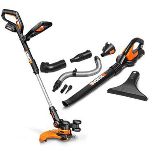 WG951.4 WORX 20V MaxLithium 3-in-1 Grass Trimmer + Blower w/ 2 Batteries $99.99 + Free Shipping (eBay Daily Deal)