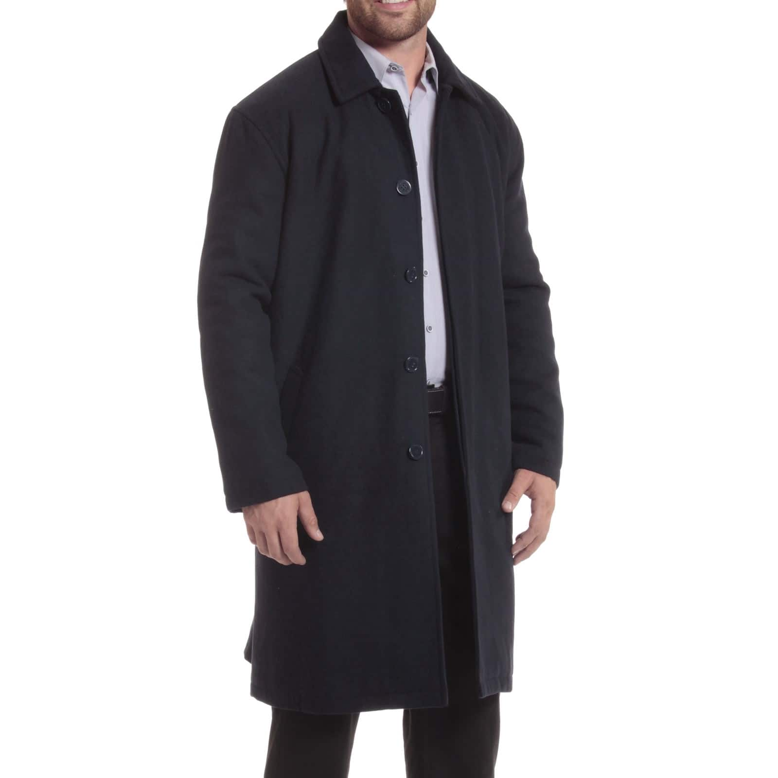 Alpine Swiss Zach Men's Wool Overcoat $35.99 + Free Shipping (eBay Daily Deal)