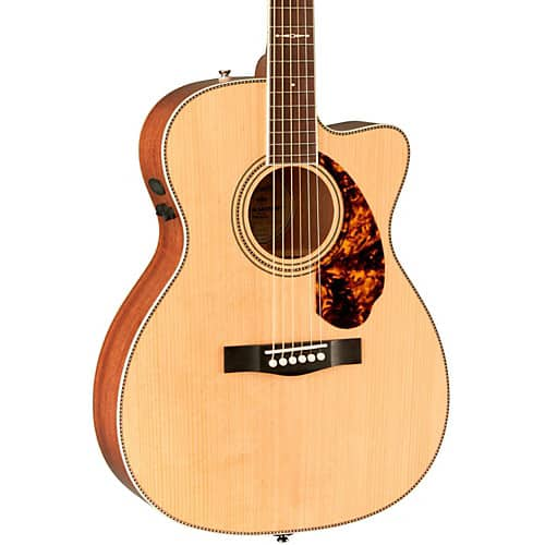 Fender Paramount Series PM-3 Limited Adirondack Spruce/Mahogany Cutaway Triple-0 Acoustic-Electric Guitar Natural + 16% Backstage Reward (free to join) for $599.99 + Free Shipping